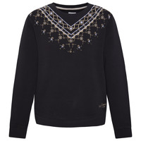 Clothing Girl sweaters Pepe jeans EARLINE Black