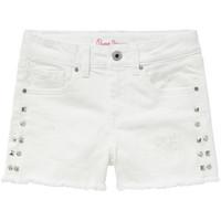 Clothing Girl Shorts / Bermudas Pepe jeans ELSY White