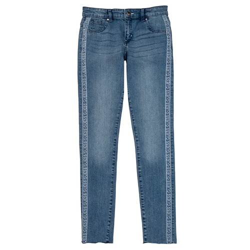 Clothing Girl Skinny jeans Guess GABIN Blue