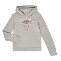 Clothing Girl sweaters Guess GREGOR Grey