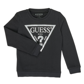 Clothing Girl Sweaters Guess HALIM Black