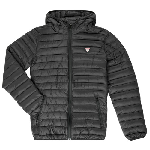 Clothing Children Duffel coats Guess HILARY Black