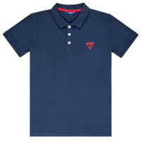 Clothing Boy short-sleeved polo shirts Guess  Marine