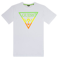 Clothing Boy short-sleeved t-shirts Guess JOSEY White