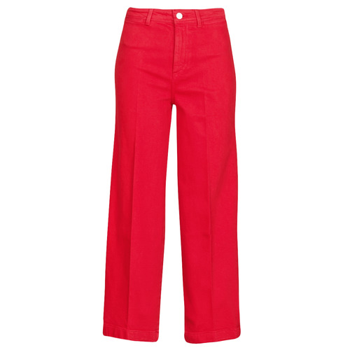 Clothing Women bootcut jeans Tommy Hilfiger BELL BOTTOM HW CCLR Red