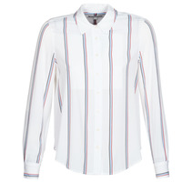Clothing Women Shirts Tommy Hilfiger DANEE BLOUSE LS White