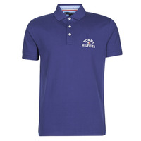 Clothing Men short-sleeved polo shirts Tommy Hilfiger ARCH ARTWORK REGULAR POLO Marine