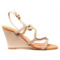 Shoes Women Sandals Cassis Côte d'Azur Chaussures Alefe Taupe Brown