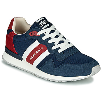 Shoes Men Low top trainers Jack & Jones STELLAR MECH Marine / Red