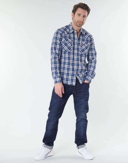 Clothing Men straight jeans Levi's 502™ TAPER Blue