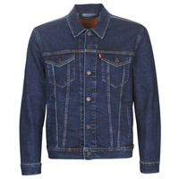 Clothing Men Denim jackets Levi's THE TRUCKER JACKET Moon / Lit