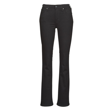 Clothing Women Bootcut jeans Levi's 725 HIGH RISE BOOTCUT Black