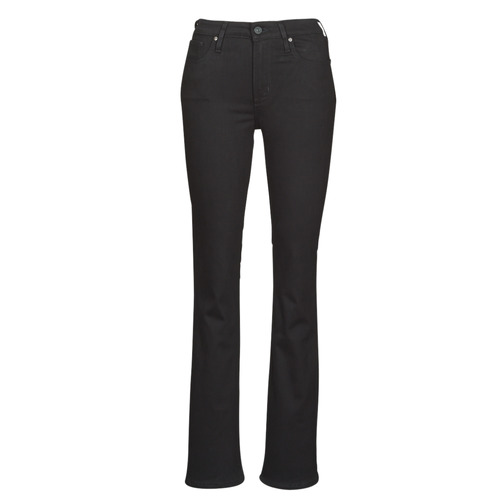 Clothing Women bootcut jeans Levi's 725 HIGH RISE BOOTCUT  black / Sheep