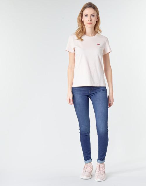 Clothing Women Skinny jeans Levi's 720 HIRISE SUPER SKINNY Echo / Storm