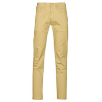 Clothing Men 5-pocket trousers Levi's 511™ SLIM FIT Beige