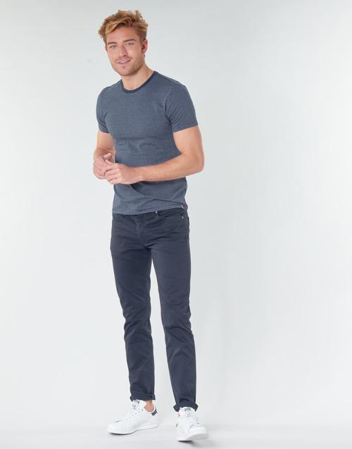 Clothing Men 5-pocket trousers Levi's 511™ SLIM FIT Marine