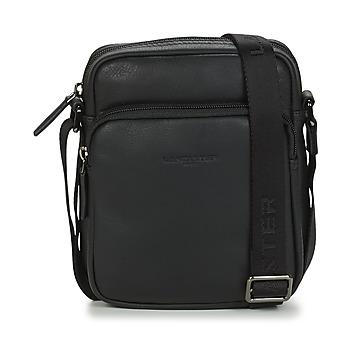 Bags Men Pouches / Clutches LANCASTER SOFT VINTAGE HOMME 10 Black