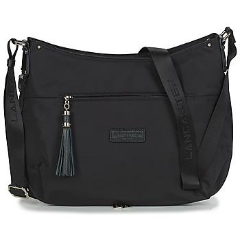 Bags Women Shoulder bags LANCASTER Basic Pompon 38 Black