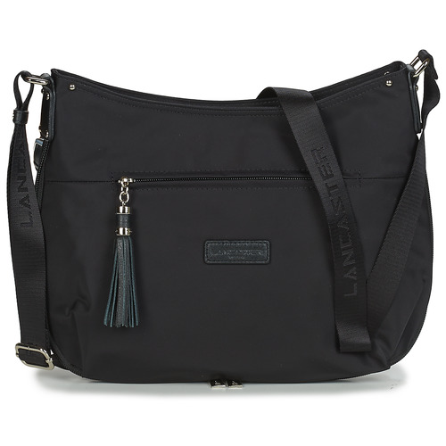 Bags Women Shoulder bags LANCASTER Basic Pompon 38 Black