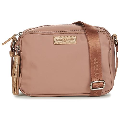 Bags Women Shoulder bags LANCASTER BASIC POMPON 43 Beige