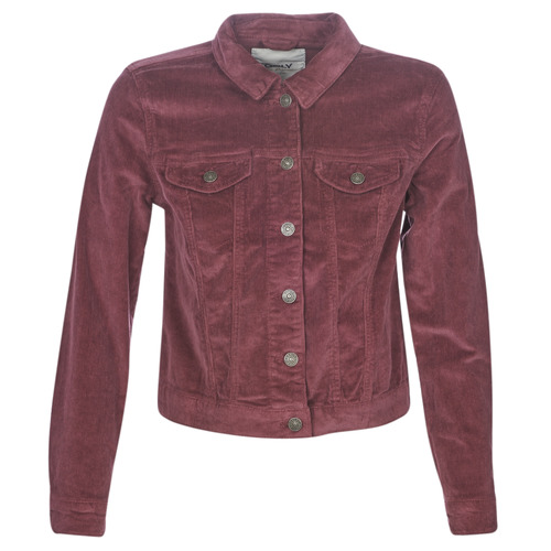 Clothing Women Denim jackets Only ONLTIA Purple