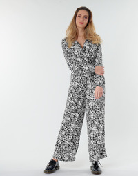 Clothing Women Jumpsuits / Dungarees Only ONLOPHELIA Black / White