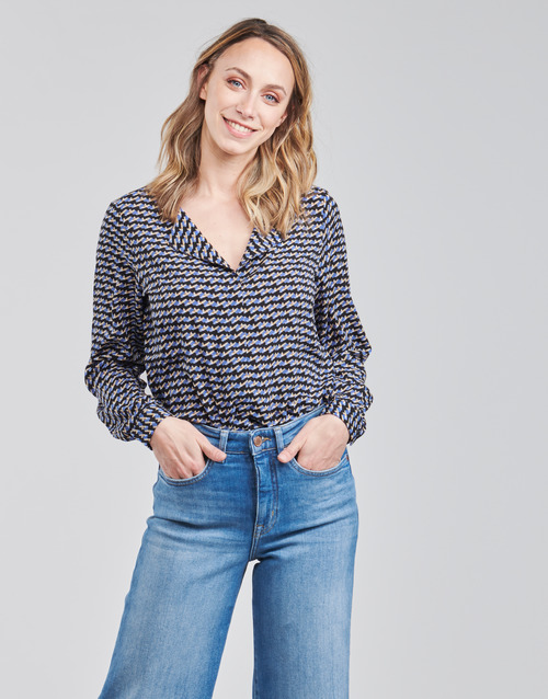 Clothing Women Tops / Blouses Only ONLDARLING Blue