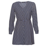 Clothing Women Short Dresses Only ONLDARLING Blue