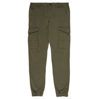 Clothing Boy Cargo trousers Jack & Jones JJIPAUL Kaki