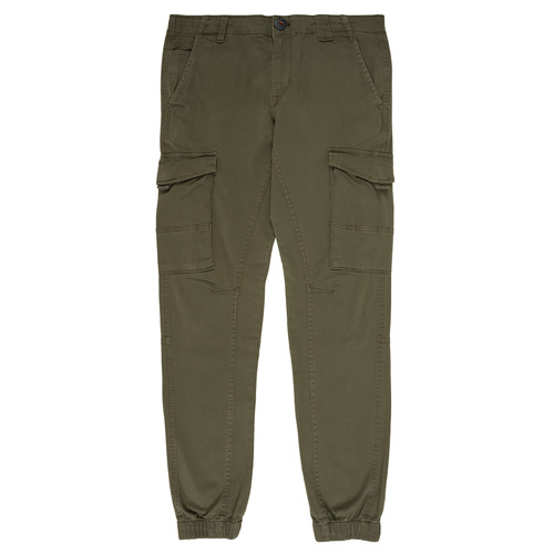 Clothing Boy Cargo trousers Jack & Jones JJIPAUL Kaki