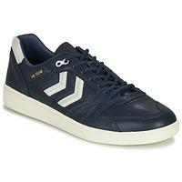 Shoes Men Low top trainers Hummel HB TEAM CREST Blue
