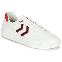 Shoes Men Low top trainers Hummel HB TEAM CREST White