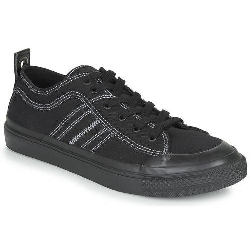 Shoes Men Low top trainers Diesel S-ASTICO LOW Black / White