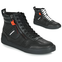 Shoes Men Hi top trainers Diesel S-DVELOWS Black
