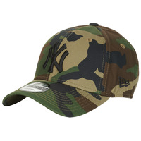 Clothes accessories Caps New-Era LEAGUE ESSENTIAL 9FORTY NEW YORK YANKEES Camouflage / Kaki
