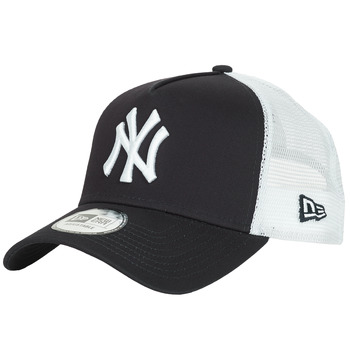 Clothes accessories Caps New-Era CLEAN TRUCKER NEW YORK YANKEES Marine / White