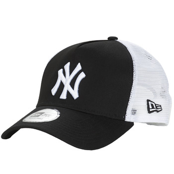 Clothes accessories Caps New-Era CLEAN TRUCKER NEW YORK YANKEES Black / White