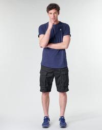 Clothing Men Shorts / Bermudas G-Star Raw ROVIC ZIP RELAXED 12 Black