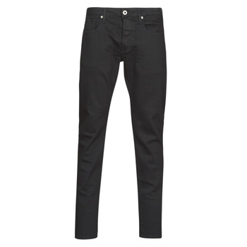 Clothing Men Slim jeans G-Star Raw 3301 SLIM Black