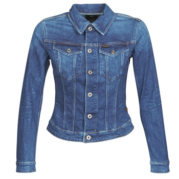 Clothing Women Denim jackets G-Star Raw 3301 SLIM JKT WMN Blue