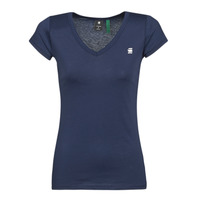 Clothing Women short-sleeved t-shirts G-Star Raw EYBEN SLIM V T WMN SS Blue