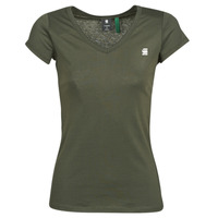 Clothing Women Short-sleeved t-shirts G-Star Raw EYBEN SLIM V T WMN SS Kaki