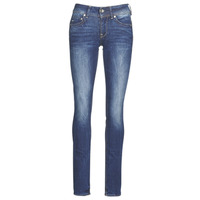 Clothing Women Straight jeans G-Star Raw MIDGE MID STRAIGHT WMN Kaki