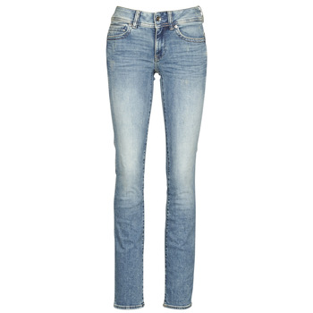 Clothing Women Straight jeans G-Star Raw MIDGE MID STRAIGHT WMN Blue