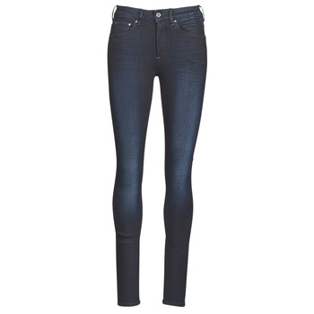 Clothing Women Skinny jeans G-Star Raw 3301 HIGH SKINNY WMN Dk / Aged
