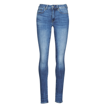 Clothing Women Skinny jeans G-Star Raw 3301 HIGH SKINNY WMN Blue