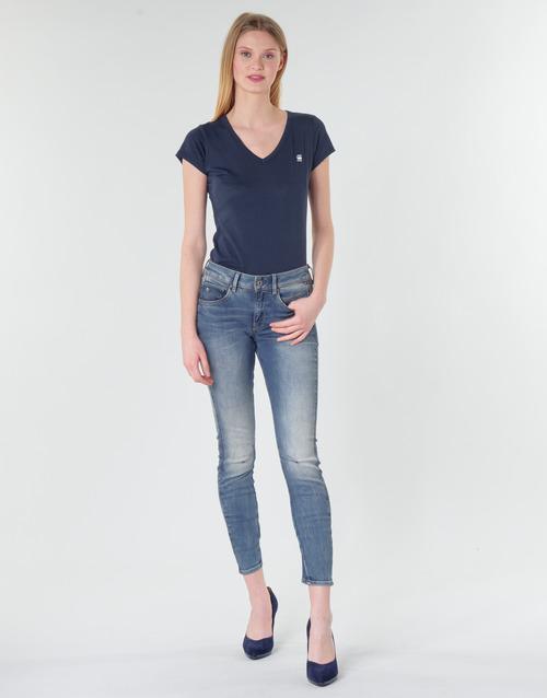 Clothing Women Skinny jeans G-Star Raw ARC 3D MID SKINNY WMN Blue