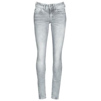 Clothing Women Skinny jeans G-Star Raw Lynn Mid Skinny Wmn Faded / Industrial / Grey