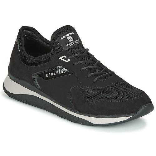 Shoes Men Low top trainers Redskins ESTEVAN Black