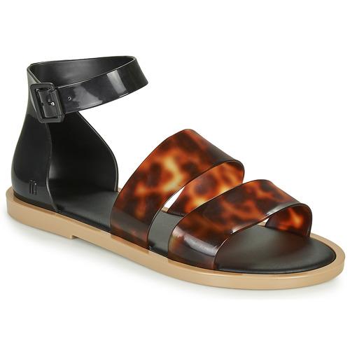 Shoes Women Sandals Melissa MODEL SANDAL  black / Leopard